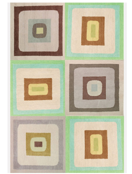 Doug and Gene Meyer Rug Bora Bora Too Hand knotted