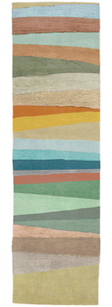 Doug and Gene Meyer Rug Scandinavian Stripes Too Hand knotted