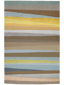 Doug and Gene Meyer Rug Scandinavian Stripes Hand knotted
