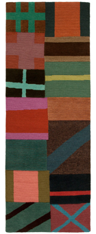 Doug and Gene Meyer Rug Signal Flags Hand knotted