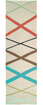 Doug and Gene Meyer Rug Bamboo Runner Hand knotted
