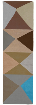 Doug and Gene Meyer Rug Try Angular Too Hand knotted