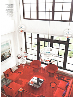 Doug and Gene Meyer Interior New York Design Hunting Magazine Summer Issue 2012 Photography- Douglas Friedman Editor- Wendy Goodman