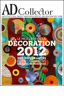 "AD France Collector Special Issue No 6 2012 ""The Years 80 Most Influential Designers"" Third year in a row Doug has made the list"